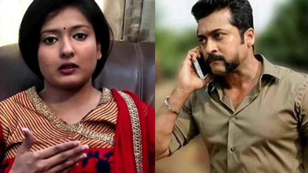 Gayathri Raguram criticise actor surya in NEET Exam Issue